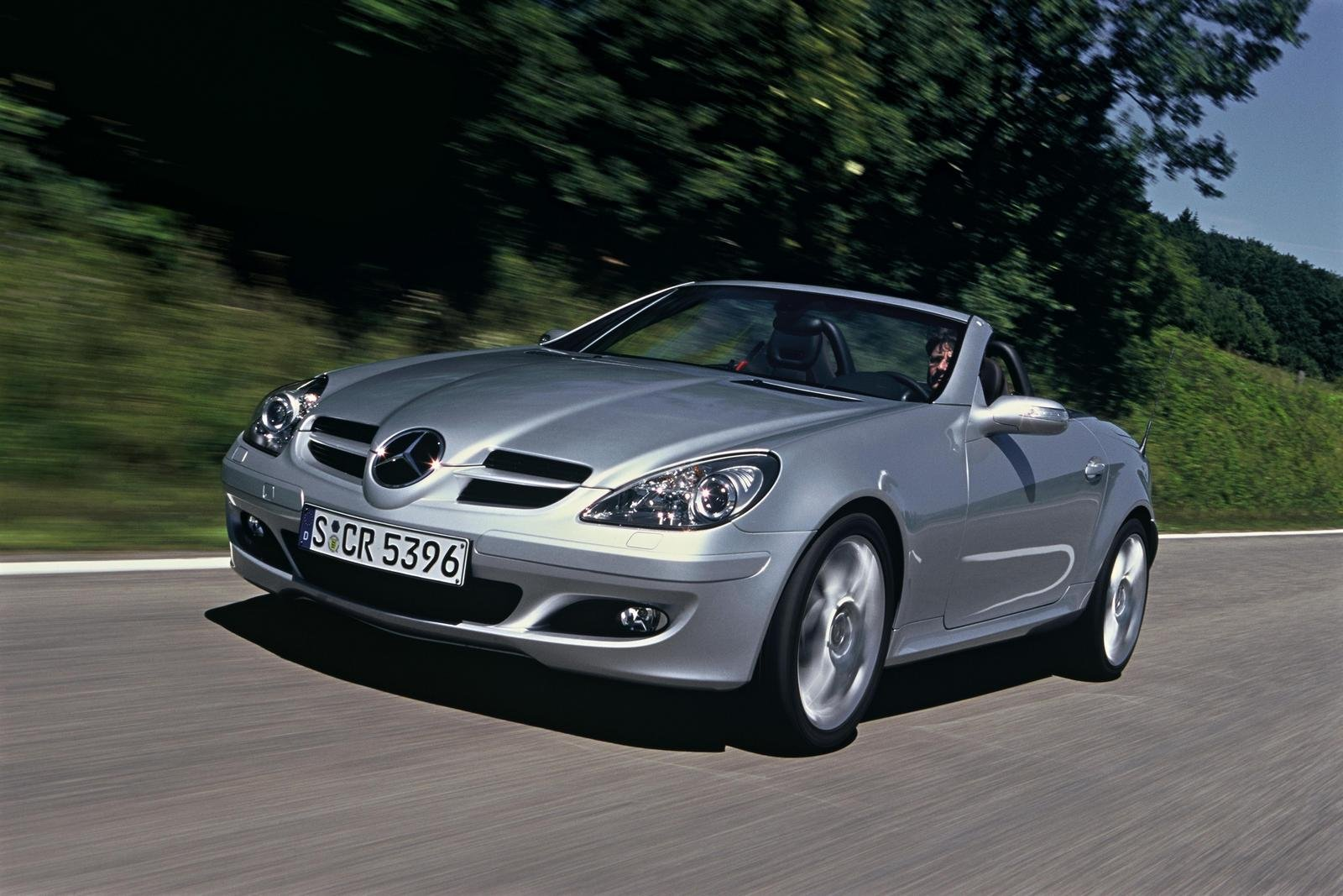 2007 mercedes benz slk class sports package review top. Black Bedroom Furniture Sets. Home Design Ideas