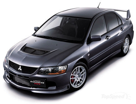 2007 Mitsubishi Lancer Evolution IX MR & and Lancer Evolution Wagon MR