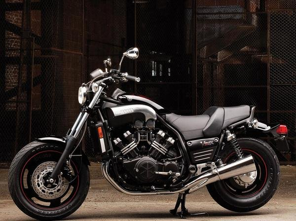 15-Mile 2009 Yamaha Star VMAX Customized for Jay Leno for