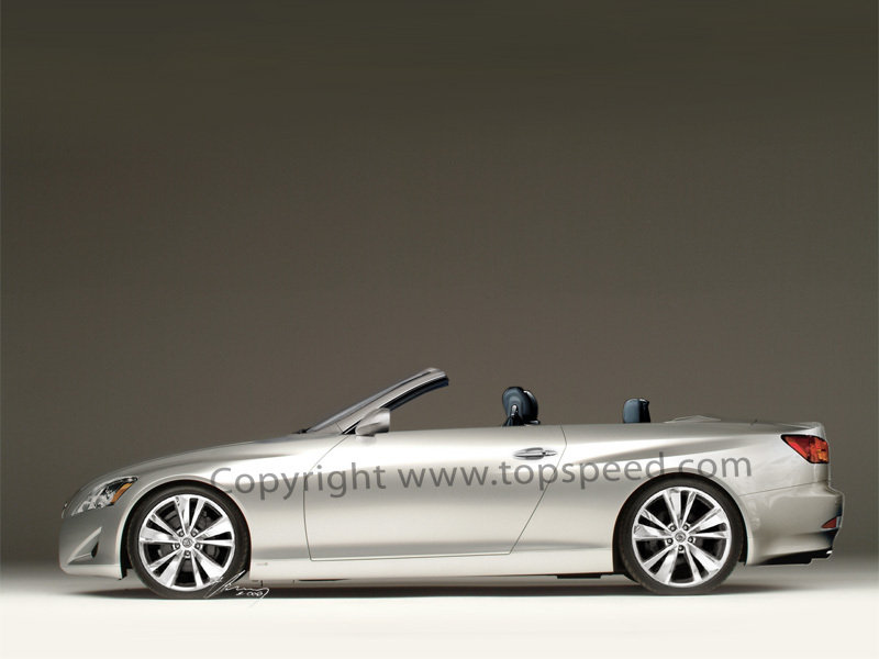 2008 Lexus IS coupe cabriolet preview