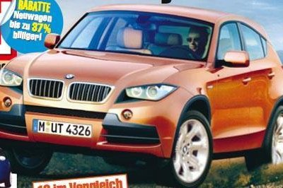 BMW X1 coming by 2010