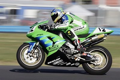 Kawasaki ZX-10R - sets the fastest road race lap record