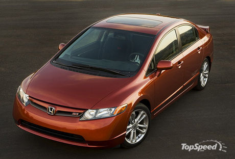 The new-for-2007 Honda Civic Si Sedan embraces the style and performance of