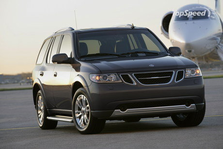 Saab's first-ever SUV is flying to new heights with the 2007 9-7X Altitude