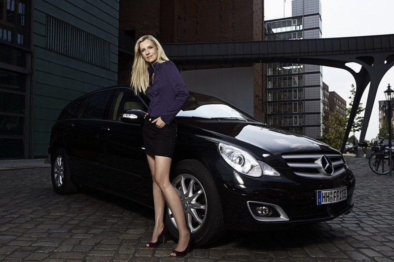 Jette Joop chooses the R-Class