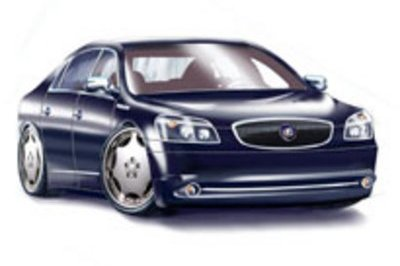 11 custom-designed Buick Lucernes on display at SEMA