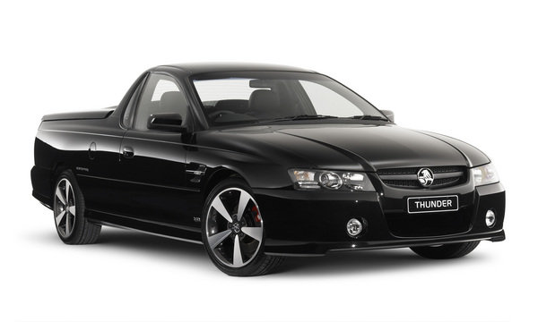 2006 holden ss thunder ute special edition review top speed
