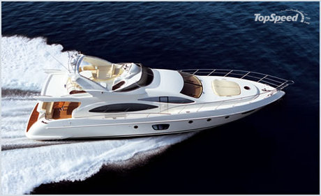 azimut 68 evolution picture. With her long flowing lines and a beam of 5.50 ...