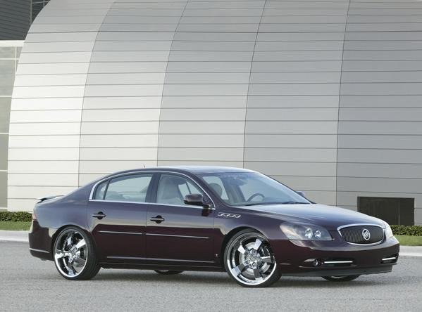 2007 buick lucerne cst by stainless steel brakes corp. Black Bedroom Furniture Sets. Home Design Ideas