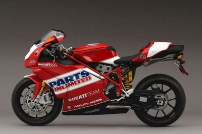 2007 Ducati 999s Team USA edition