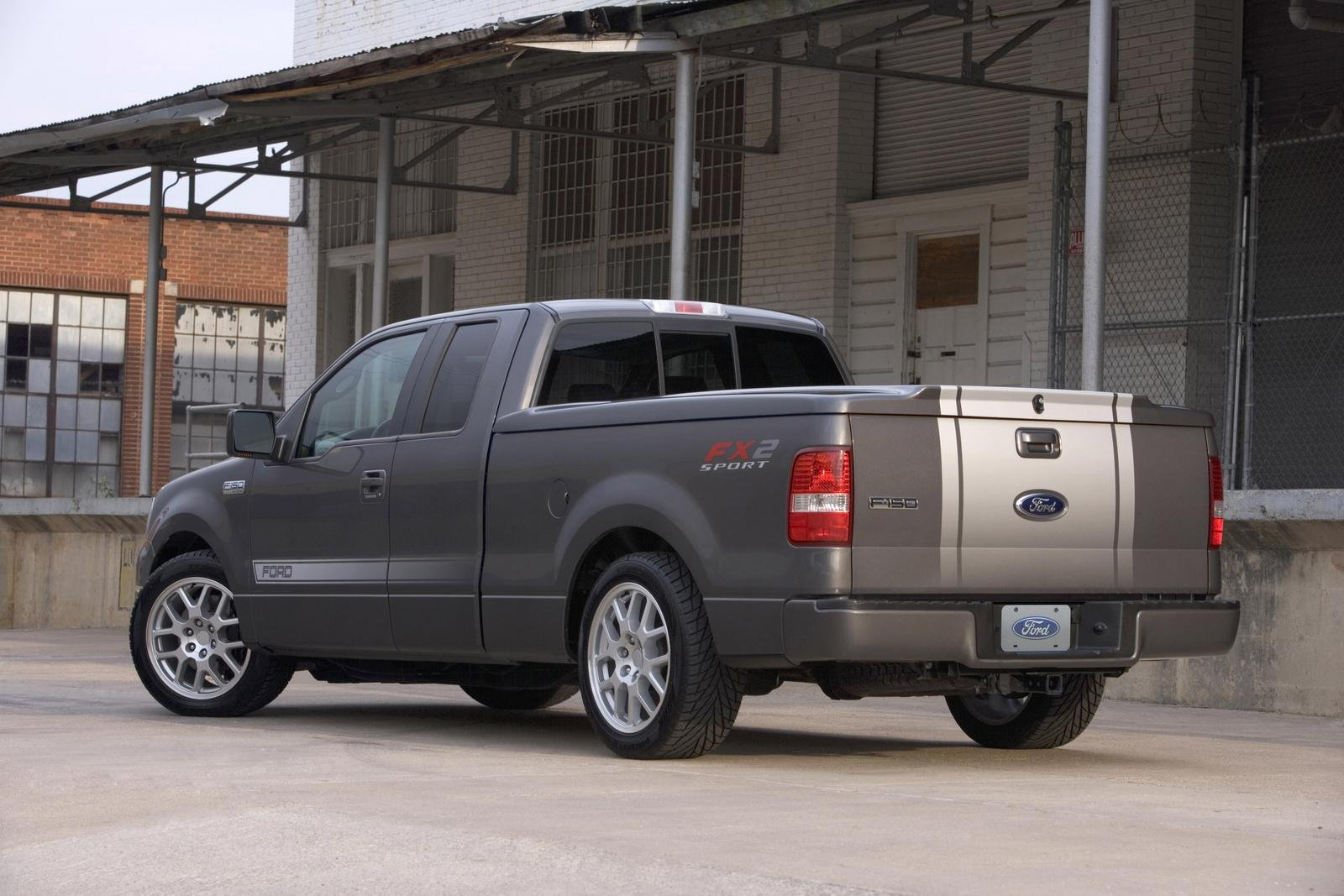 2007 ford f 150 project fx2 sport picture 108471 car review top speed. Black Bedroom Furniture Sets. Home Design Ideas