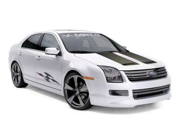 Silver Ford Fusion >> 2007 Ford Fusion T5 By MRT Review - Top Speed