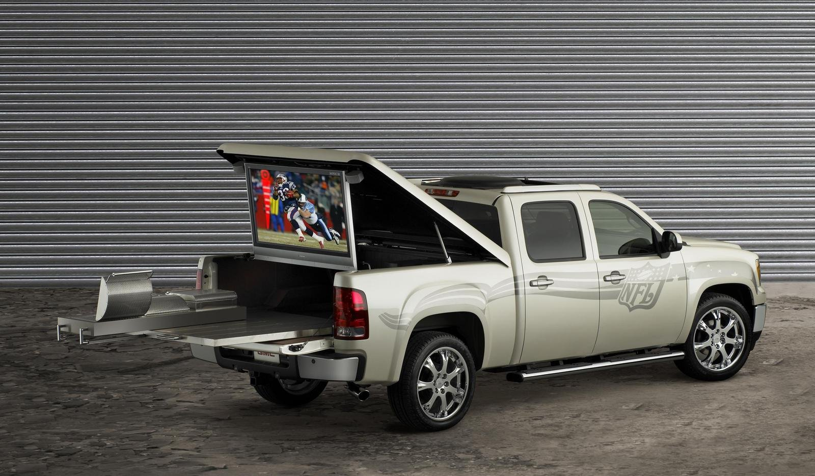 2007 gmc sierra nfl crew cab picture 108938 car review. Black Bedroom Furniture Sets. Home Design Ideas