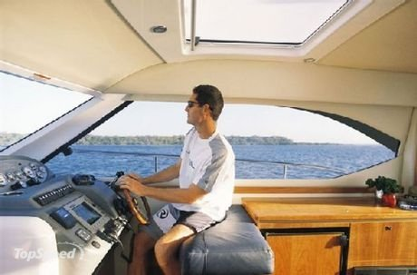 ... enjoy the boating lifestyle, the Riviera 3600 Sport Yacht has arrived.