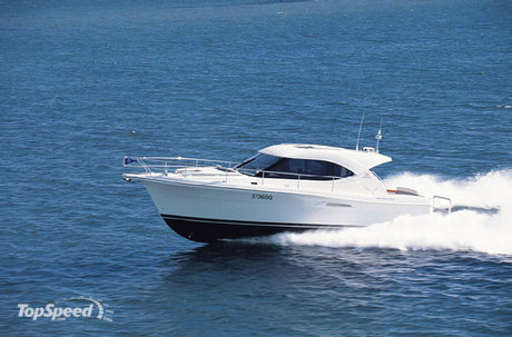 The Riviera 3600 Sport Yacht is a superb example of forward thinking, ...