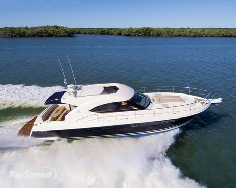 The 4700 Sport Yacht breaks new ground for Riviera, including optional ...