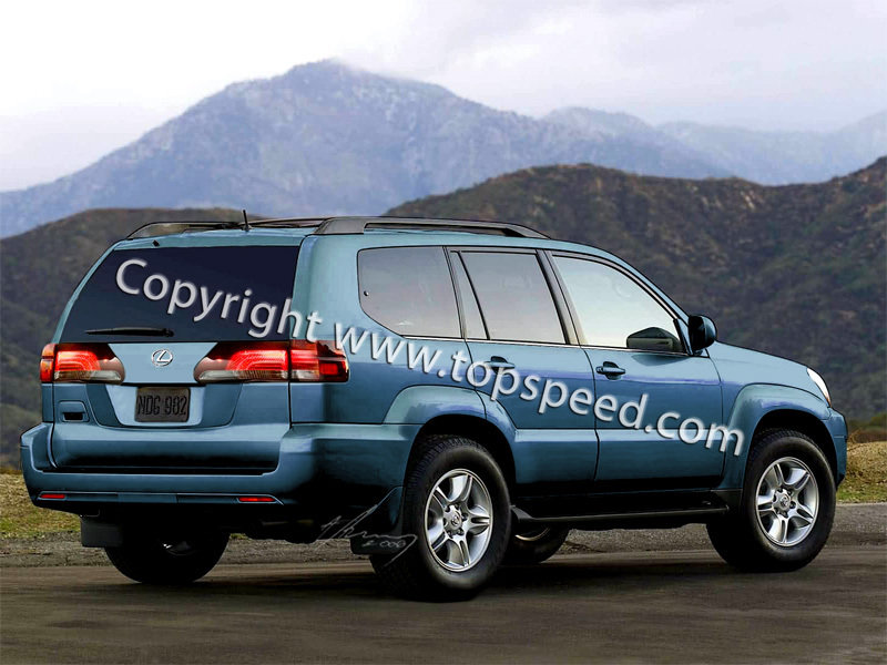 lexus lx news and reviews top speed. Black Bedroom Furniture Sets. Home Design Ideas