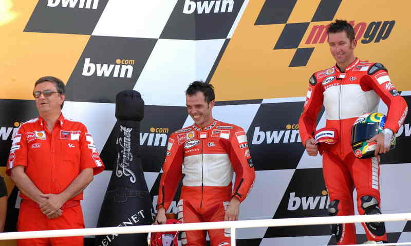 A day that will go down in Ducati's history
