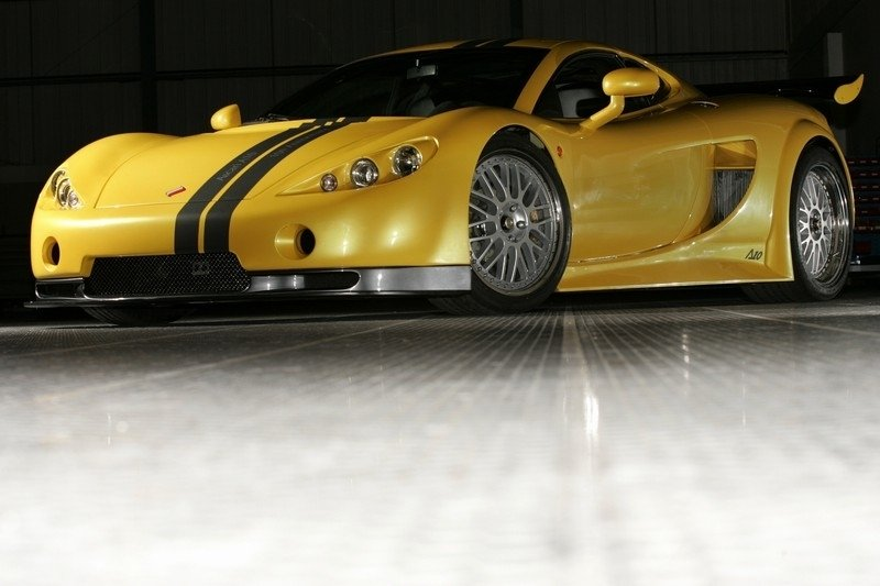 Ascari A10 world debut