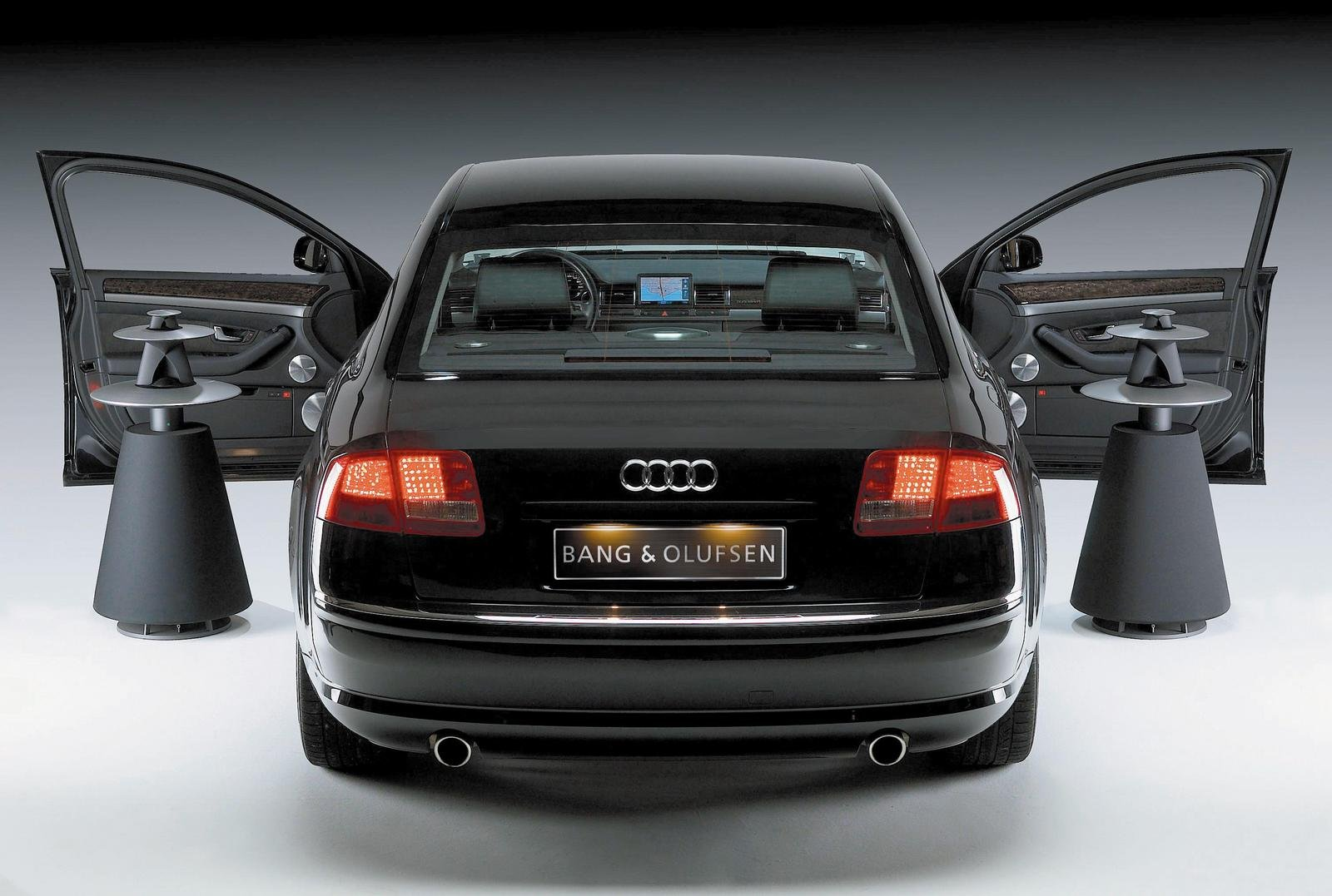 bang olufsen sound system in the audi a8 news top speed. Black Bedroom Furniture Sets. Home Design Ideas