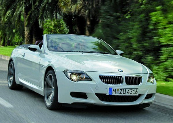 bmw m6 convertible arriving this fall picture