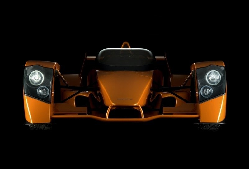 Caparo T1 makes US debut at the SEMA show