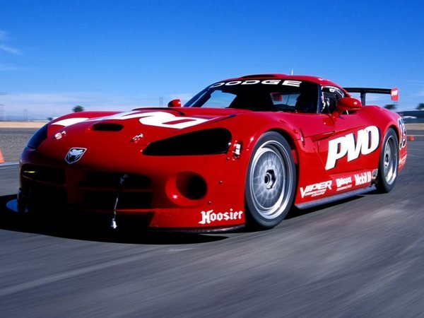 6.Dodge Viper Competition Coupe