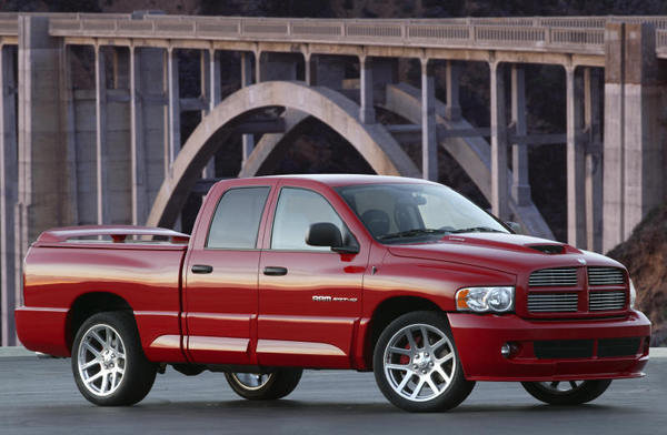 7.Dodge Viper-powered Ram