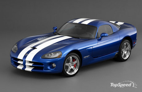 The Dodge Viper is a two-seat sports car, the most powerful production car