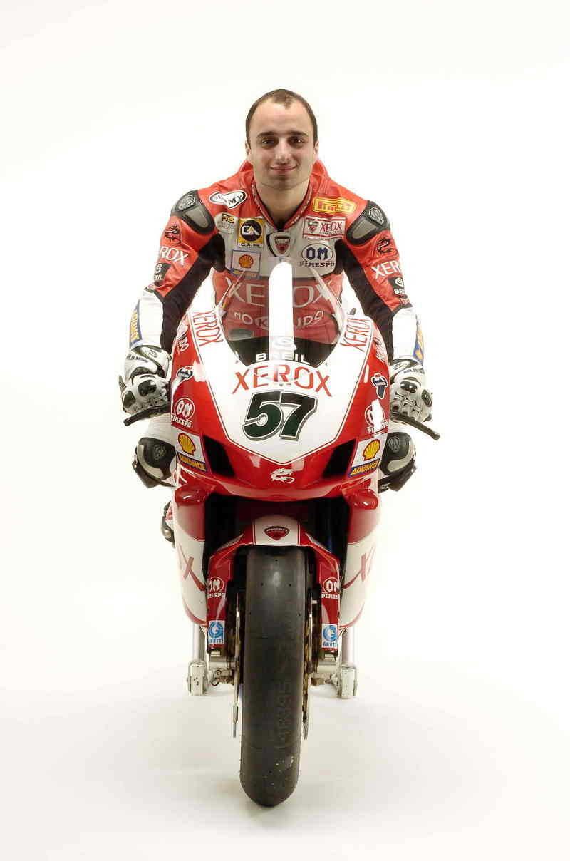 Ducati Xerox team completes 2007 line-up with confirmation of Lorenzo Lanzi alongside Troy Bayliss