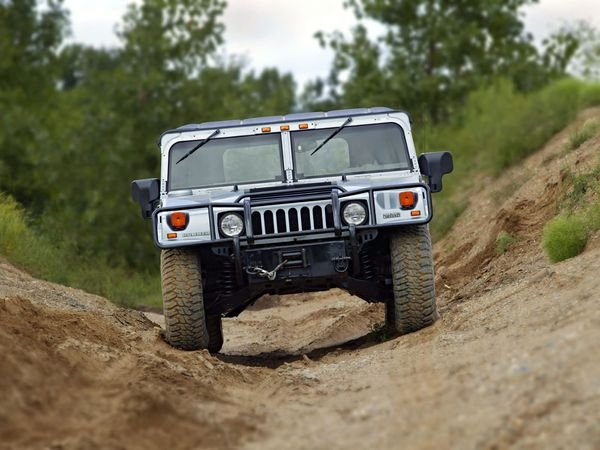 Hummer H X W on Hummer H1 Open Top