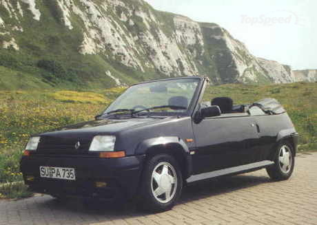 Nowadays Renault 5 GT Turbo is becoming more and more a myth.