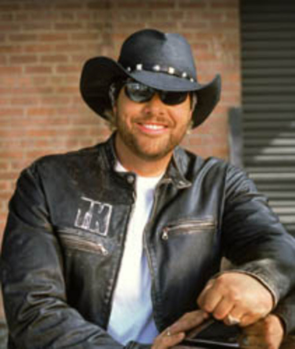 Toby Keith Featured X W on Nascar Cars