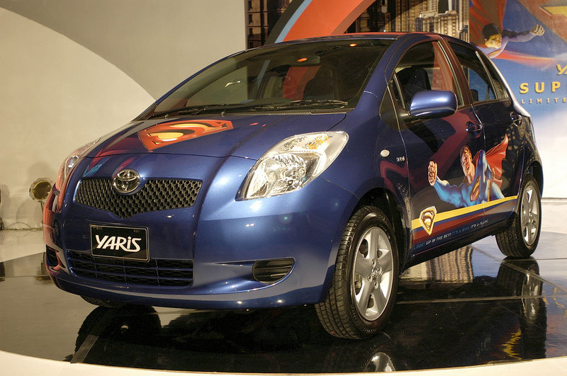 Toyota Yaris Superman Limited Edition