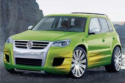 Volkswagen Tiguan Concept to be unveiled at LA Auto Show