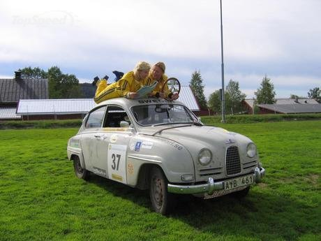 1960 saab 96 to compete in 2006 la carrera panamericana