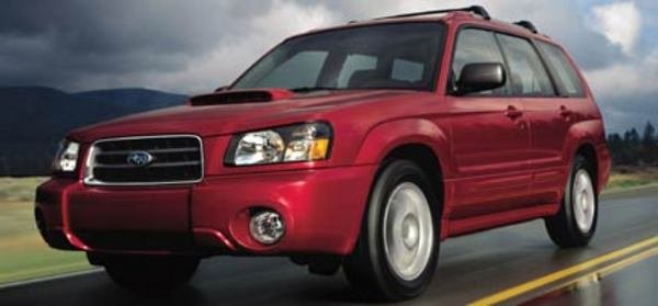 subaru forester picture