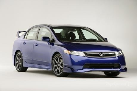 Honda Civic Hybrid Sedan Concept Pictures