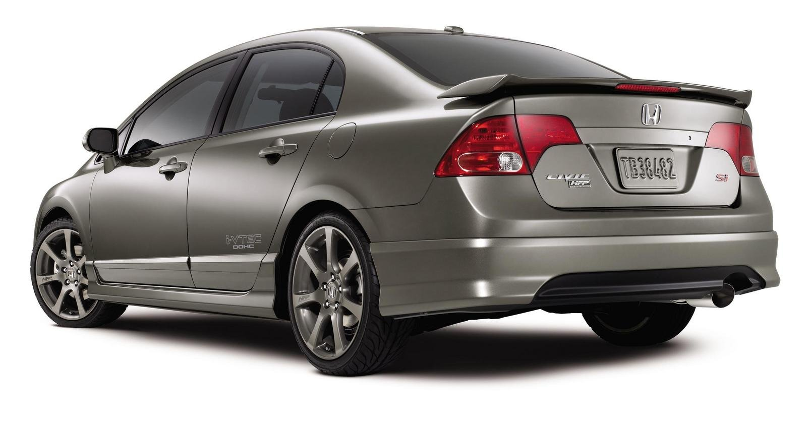 2007 honda factory performance civic si sedan picture. Black Bedroom Furniture Sets. Home Design Ideas