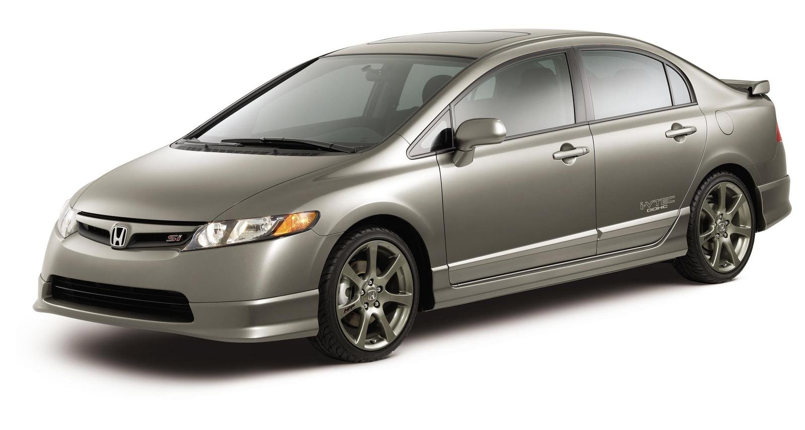 2007 honda factory performance civic si sedan review top. Black Bedroom Furniture Sets. Home Design Ideas