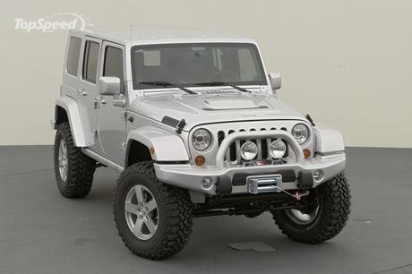Takes the already off-road benchmark Jeep Wrangler to a whole new level.