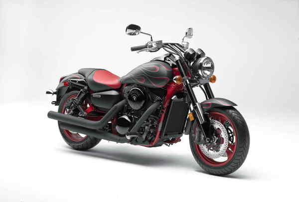 2007 kawasaki vulcan 1600 mean streak motorcycle review. Black Bedroom Furniture Sets. Home Design Ideas