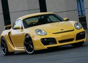 Porsche Cayman TechArt Widebody Cayman S
