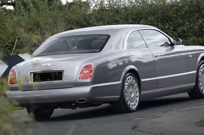 Bentley Coupe - first photo