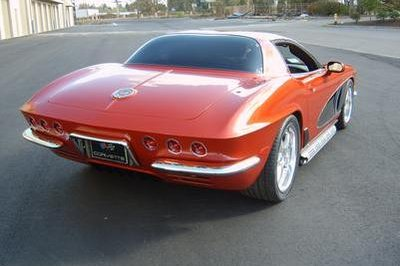 CRC - a 1962 Corvette re-styled