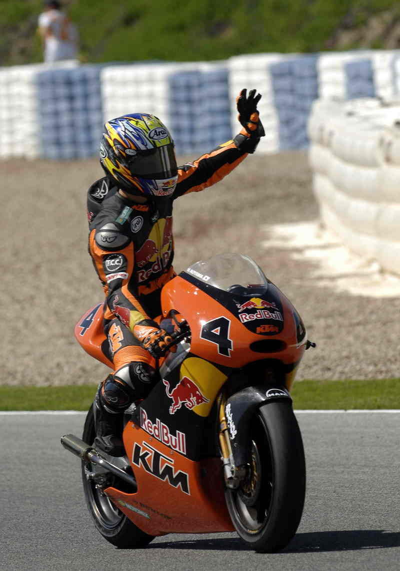First test for the Red Bull KTM teams 2007 in Jerez