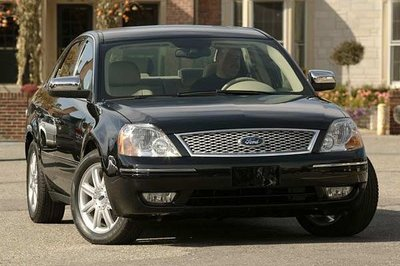 Ford Five Hundred facelift