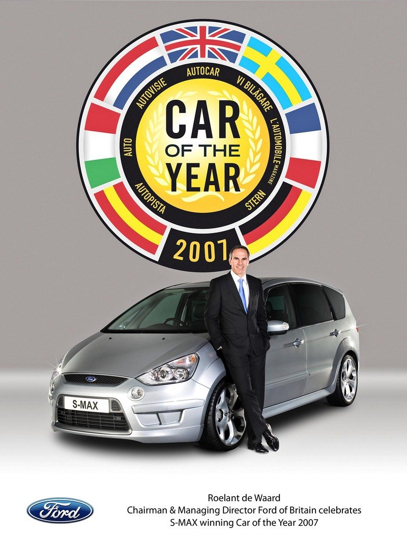 Ford s max car of the year 2007