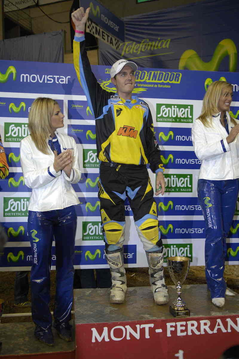 KTM riders have dominated the VIII running of the Barcelona International Indoor Enduro