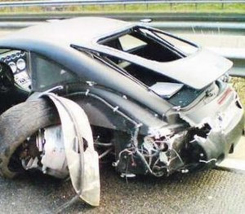 Mysterious Sports Car Crashes In Germany  | Top Speed